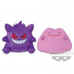 POKEMON SUN & MOON BIG PLUSH -GENGAR・DITTO- BBC
